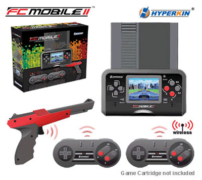 FC Mobile II Portable NES System (Black)