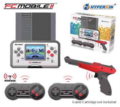 FC Mobile II Portable NES System (White)