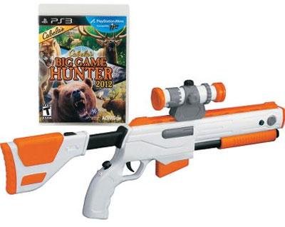 Big Game Hunter with Gun
