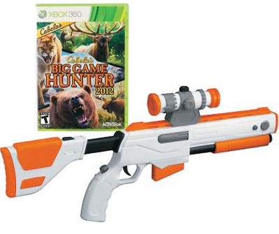 Big Game Hunter with Gun