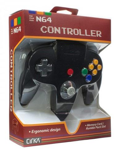 Nintendo 64 Black Controller