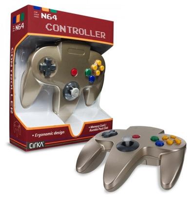 Nintendo 64 Gold Controller