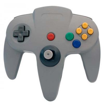 Nintendo 64 Gray Controller