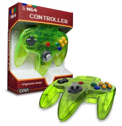 Nintendo 64 Jungle Green Controller