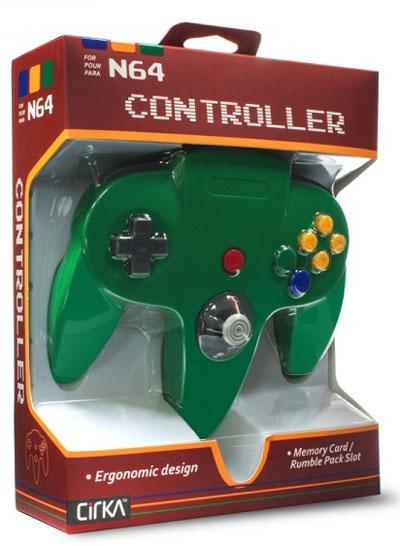Nintendo 64 Green Controller