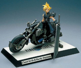 Final Fantasy VII Cloud Strife & Hardy Daytona Resin Statue