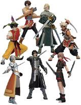 Suikoden Konami Complete 7 Figures Collection
