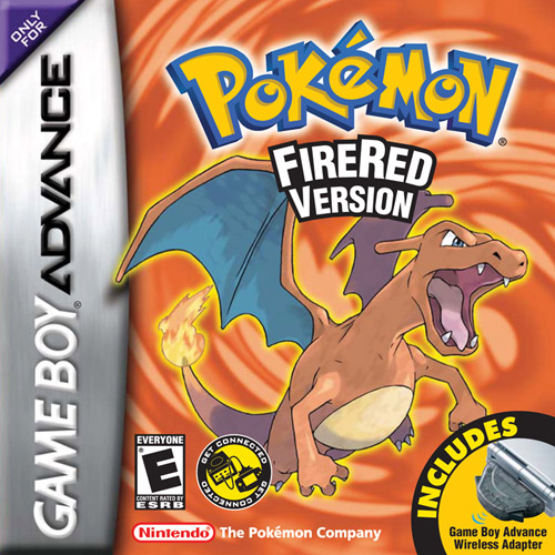 Pokemon: Fire Red with Wireless Adapter