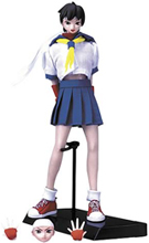 Capcom Queens Sakura Kasugano Action Figure