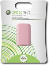 Microsoft Xbox 360 Rechargeable Battery Pack Pink
