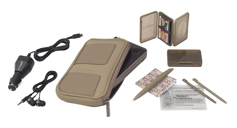 Nintendo DSi XL 11-in-1 Starter Kit (Bronze)