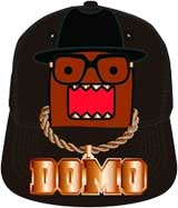 Domo Blinged Out Snap Back Cap