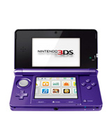 Nintendo 3DS System Midnight Purple