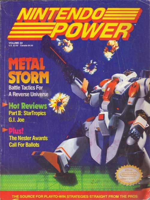 Nintendo Power Volume 22 Metal Storm