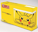 Nintendo 3DS XL Yellow Pikachu System