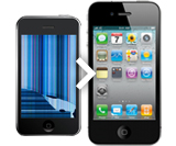 iPhone 5s Black LCD Screen Replacement