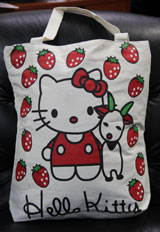 Hello Kitty: Strawberry Tote Bag