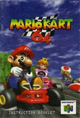 Mario Kart 64 Instruction Manual