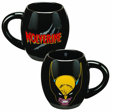 Marvel Wolverine 18oz Ceramic Oval Mug
