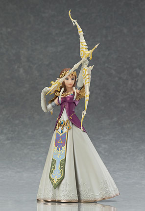 Legend of Zelda Twilight Princess Zelda Figma Action Figure ready to combat Ganon with her light bow!