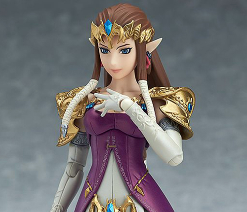 Legend of Zelda Twilight Princess Zelda Figma Action Figure Smiling