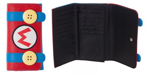 Super Mario Jrs. Flap Wallet