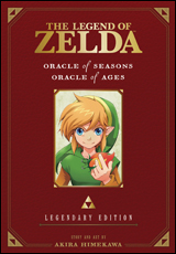 Legend of Zelda Oracle of Seasons and Ages Graphic Novel