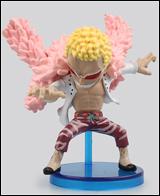 One Piece WCF Fight Doflamingo 2 1/2 Inch Figure
