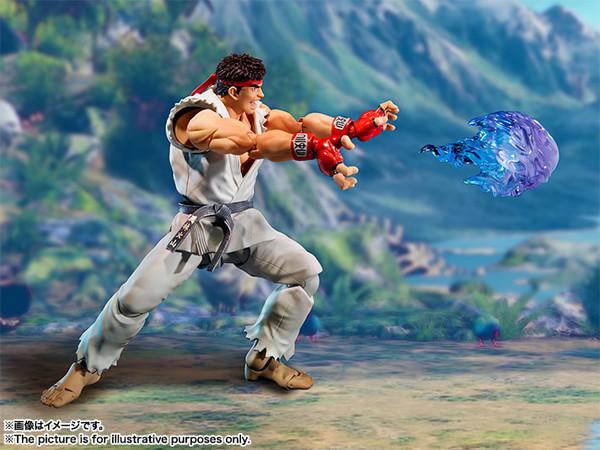 Street Fighter V Ryu SH Figuarts AF