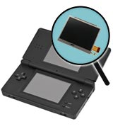 Nintendo DS Lite Repairs: Bottom LCD Screen Replacement Service