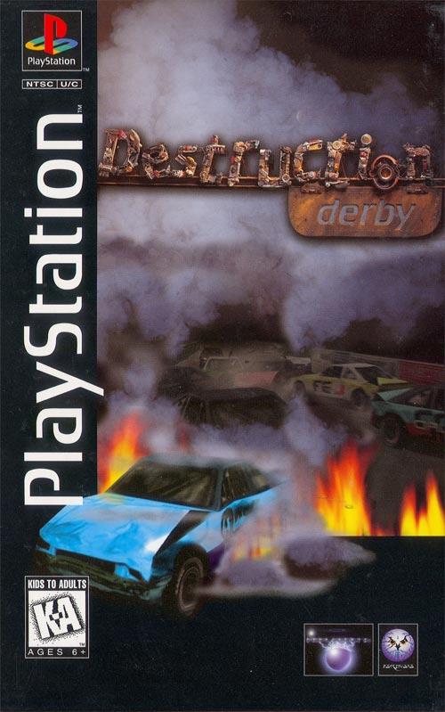 Destruction Derby Long Box Version