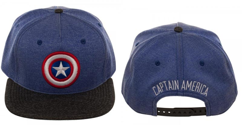 Front and back of Captain America 2 Tone Cationi