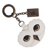 Harry Potter Hedwig & Envelope PU Leather Keychain