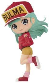 Dragon Ball Q-Posket Bulma II Figure Red Outfit