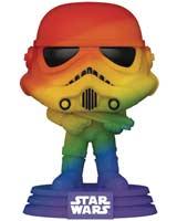 Pop Star Wars Pride Stormtrooper Rainbow Vinyl Figure