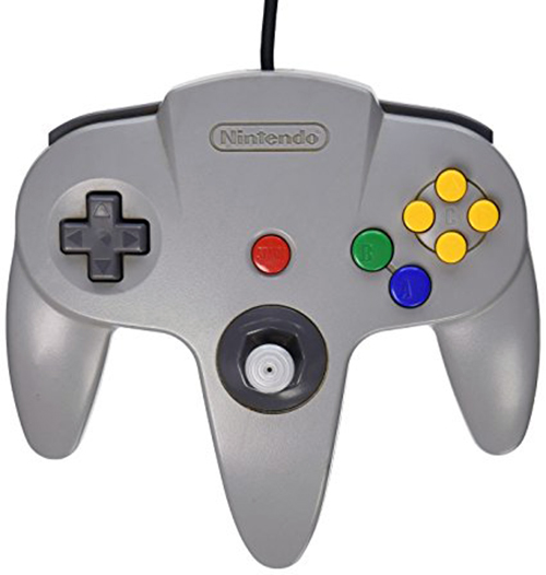 N64 Controller by Nintendo (Gray)