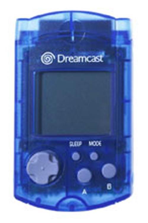 Dreamcast VMU Memory Card Clear Blue by Sega
