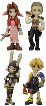 Final Fantasy: Trading Arts Volume 3 Mini Figures Set