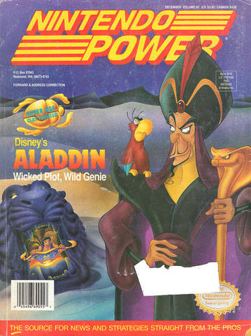 Nintendo Power Volume 55 Disney's Aladdin