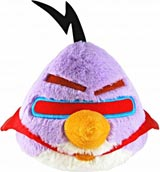 Angry Birds Space 16 Inch Purple Lazer Bird Plush