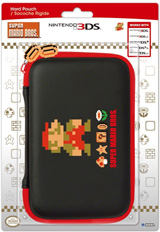 3DS XL Retro Mario Hard Pouch (Hori)