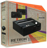 Retron 1 NES System Black