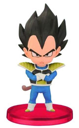 DBZ World Collectible Figures Volume 0 Vegeta