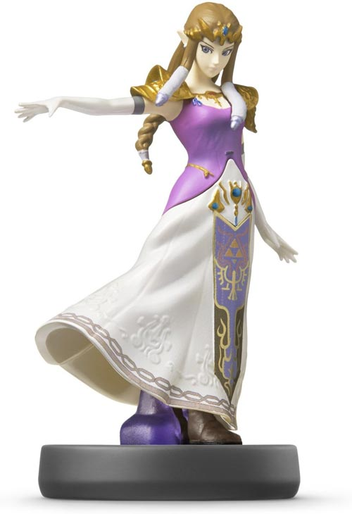 amiibo Zelda Super Smash Bros Series