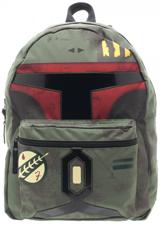 Star Wars Boba Fett Reversible Backpack with Blue Print