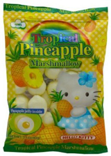 Hello Kitty Tropical Pineapple Marshmallow 3.1oz