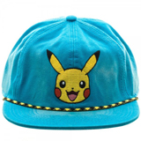 Pokemon Pikachu Washed Blue Snapback