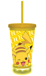 Pokemon Pikachu LED Carnival Tumbler With Lid