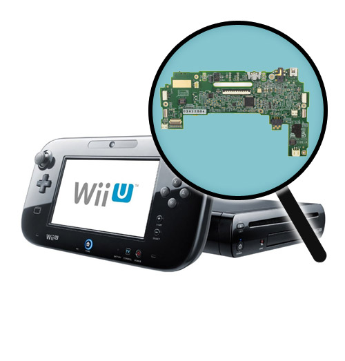 Nintendo Wii U Repairs: Gamepad Motherboard Replacement Service