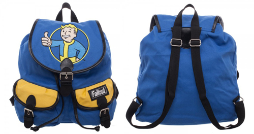 The Fallout Vault Boy Knapsack